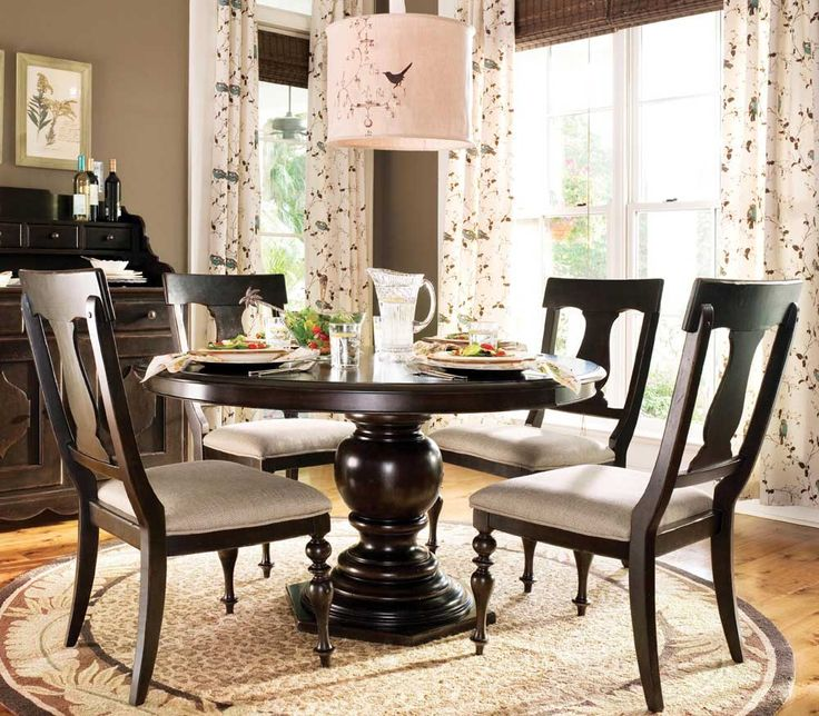 paula deen round dining table dining set 5 piece uf 932655 632 5pc