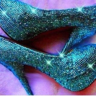 Sparkle sparkle mermaid shoes