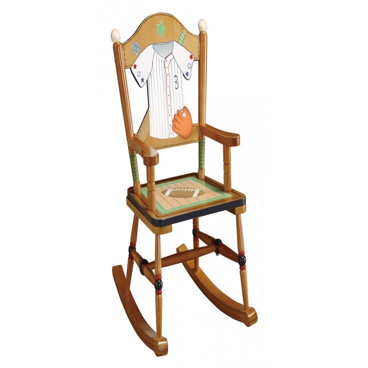 Teamson Kids Little Sports Fan Rocking Chair - TD-0021A