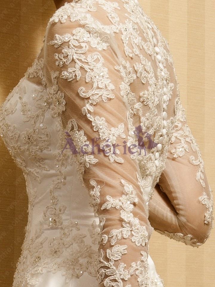 Détails robe mariée vintage  Robes de mariées vintage  Pinterest