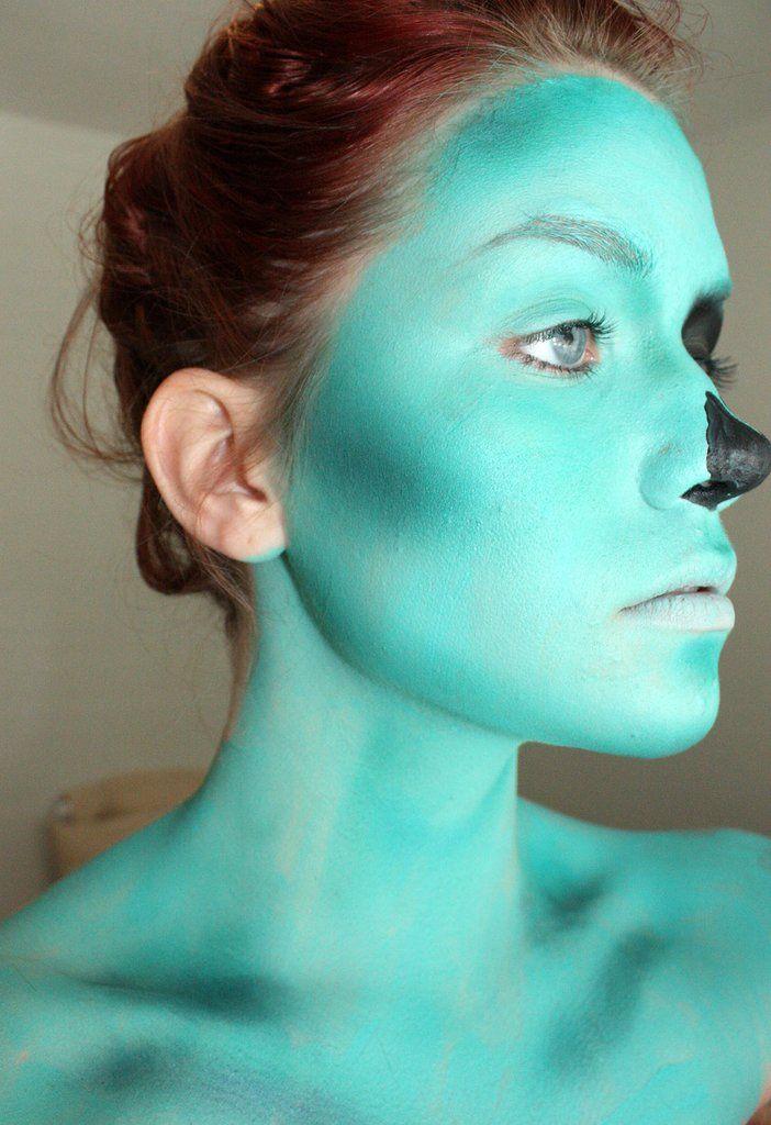 zombie makeup tutorialsPop Art Zombie Makeup
