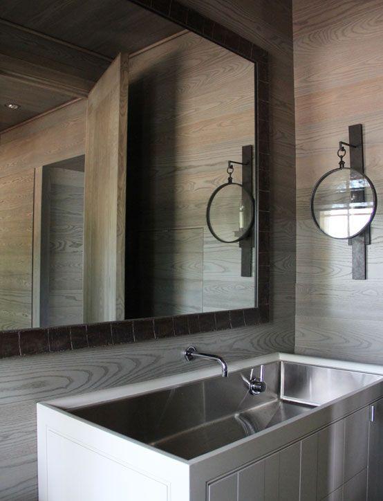 Rustic Contemporary Bathrooms Pinterest