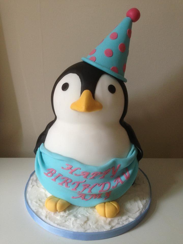 Birthday Cake Ideas Penguin : Penguin Birthday Cake Cakes Pinterest