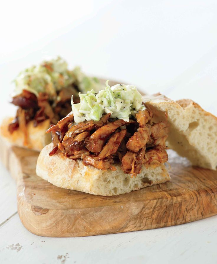 Pulled Chicken Barbecue Sandwiches | Babble