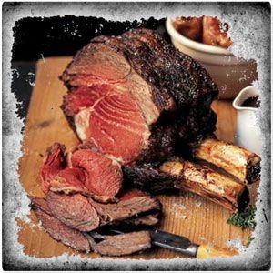 Roast Rib Of Beef With Port And Stilton Gravy Recipe ...