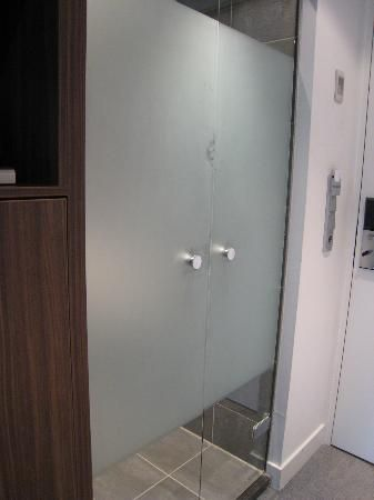 Frosted shower door bed bath ideas pinterest - Frosted doors for bathroom ...