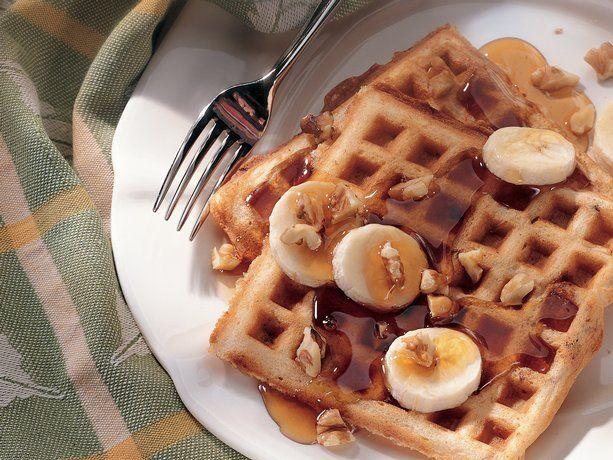 Banana-Nut Waffles (also a Betty Crocker recipe)