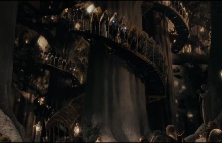 The Wood Elves In Fellowship Ring