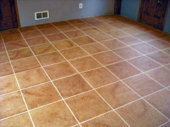 top 28 faux tile flooring faux tile painted concrete