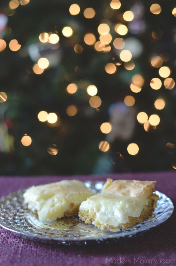 Southern Chess Squares / Southern Chess Cake recipe....gooey goodness ...
