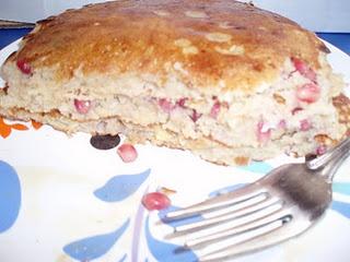 Pomegranate pancakes! | Picnics | Pinterest