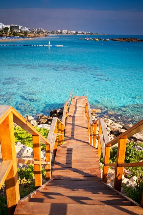 ⚓ Cyprus and the Mediterranean Sea. #island #ocean #sea #resort #destinations #blue