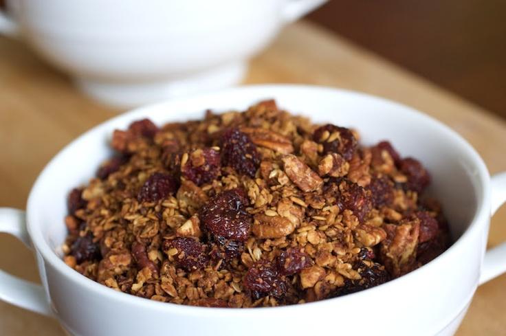 Cherry Pecan Granola recipe | Page: 1 | Naturally Ella