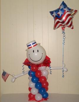 4th of july balloon ideas