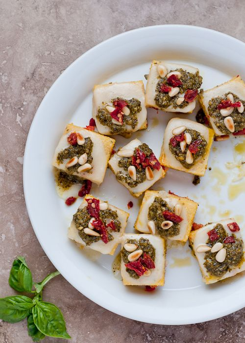 ... Taleggio, Kale Pesto and Sun-Dried Tomatoes recipe by Lindsey Johnson