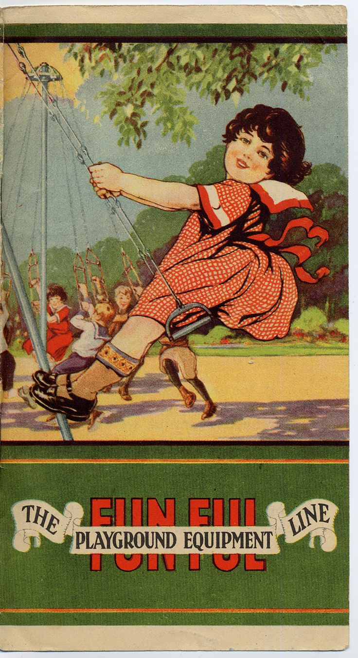 FUN-FUL PLAYGROUND EQUIPMENT LINE by Charles J. Jager Co., 1925