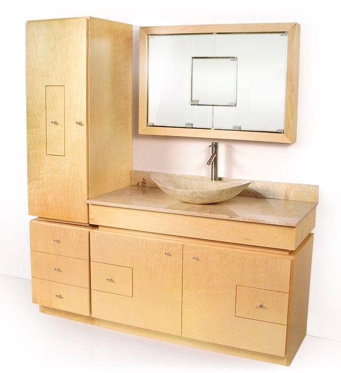 Pin by kelly mcfarland on small bath ok extra small bath for Dvontz bathroom vanity