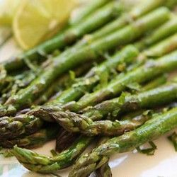 Asparagus with Lime and Mint | I love food | Pinterest