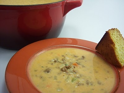 Creamy White Bean and Chorizo Soup | FOOD!!! | Pinterest