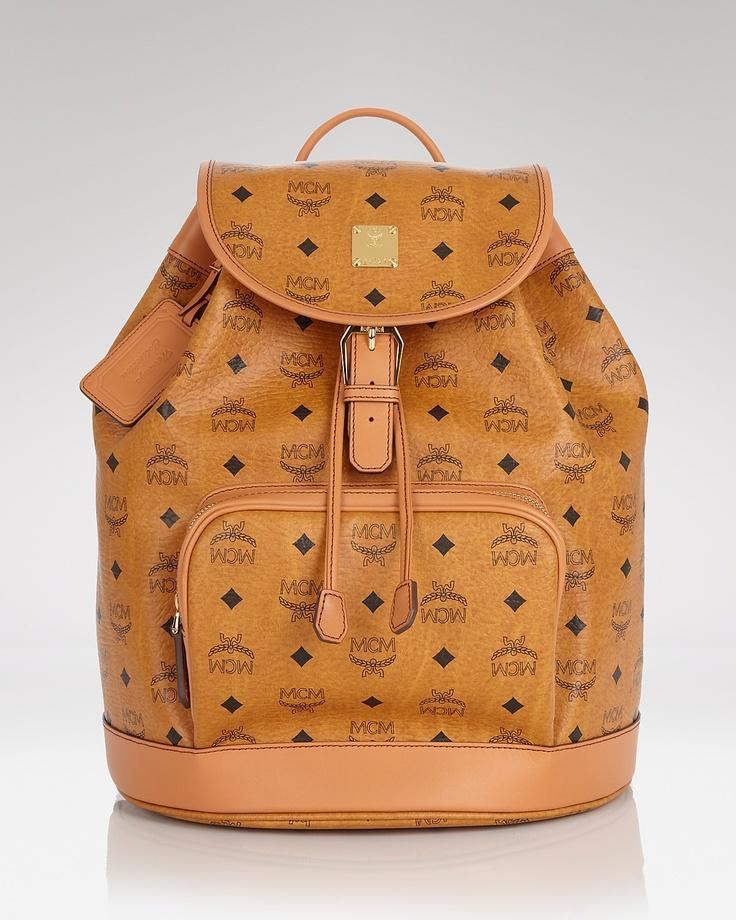 mcm backpack heritage bloomingdale 39 s mcm pinterest. Black Bedroom Furniture Sets. Home Design Ideas