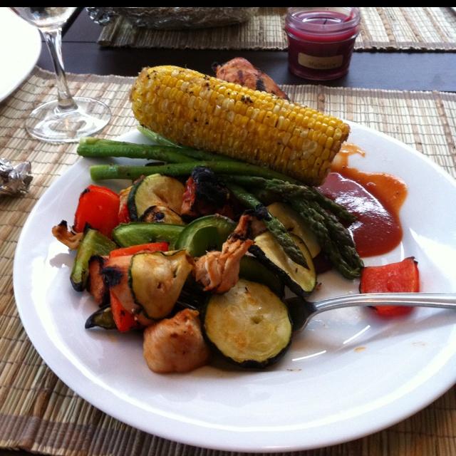 grilled summer veggies | Around the Family dinner table | Pinterest