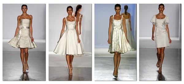 short brides dresses
