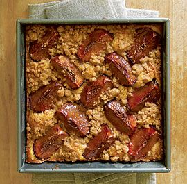 Plum Coffee Cake with Brown Sugar & Cardamom Streusel from Fine ...