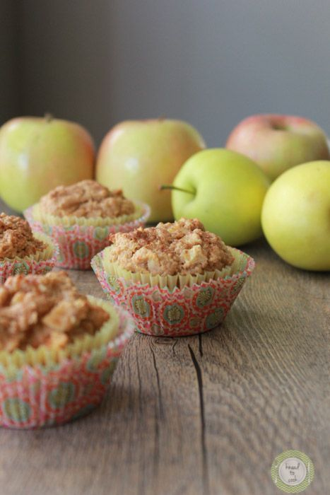 Oatmeal Honey Apple Muffins | Knead to Cook