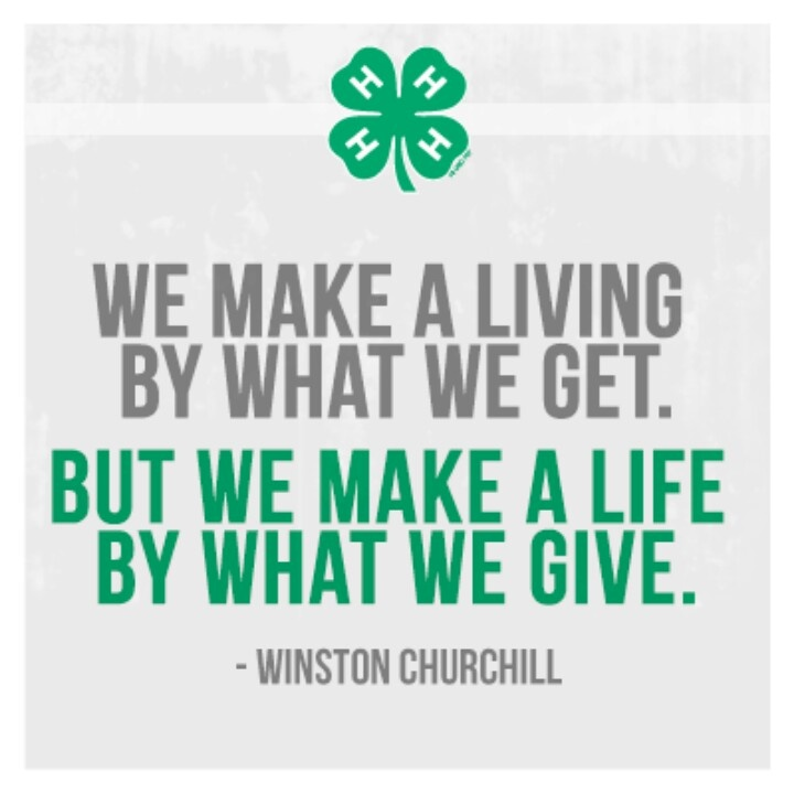 4H rocks! | Great Sayings & Quotes | Pinterest