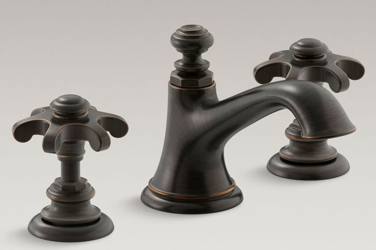 ... Big or Small Kohler Artifacts Bell faucet in Oil Rubbed Bronze