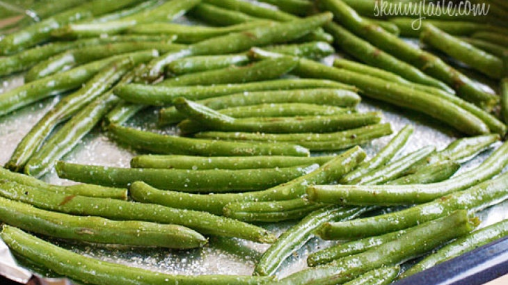 Roasted Parmesan Green Beans | Food and Drink | Pinterest