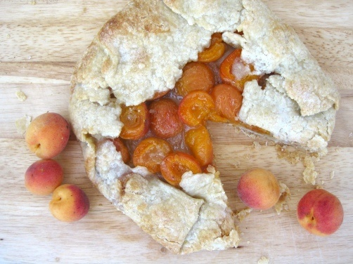 Apricot Almond Galette (with Strawberry and Mango recipe variations)