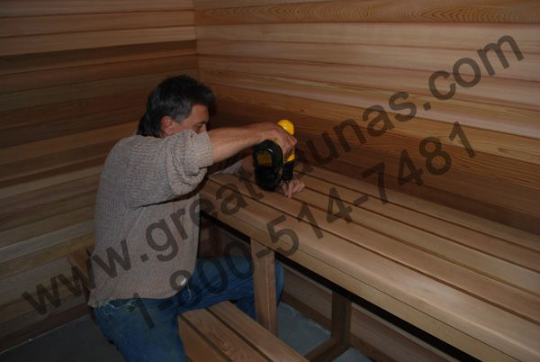 Diy Sauna Sauna Pinterest