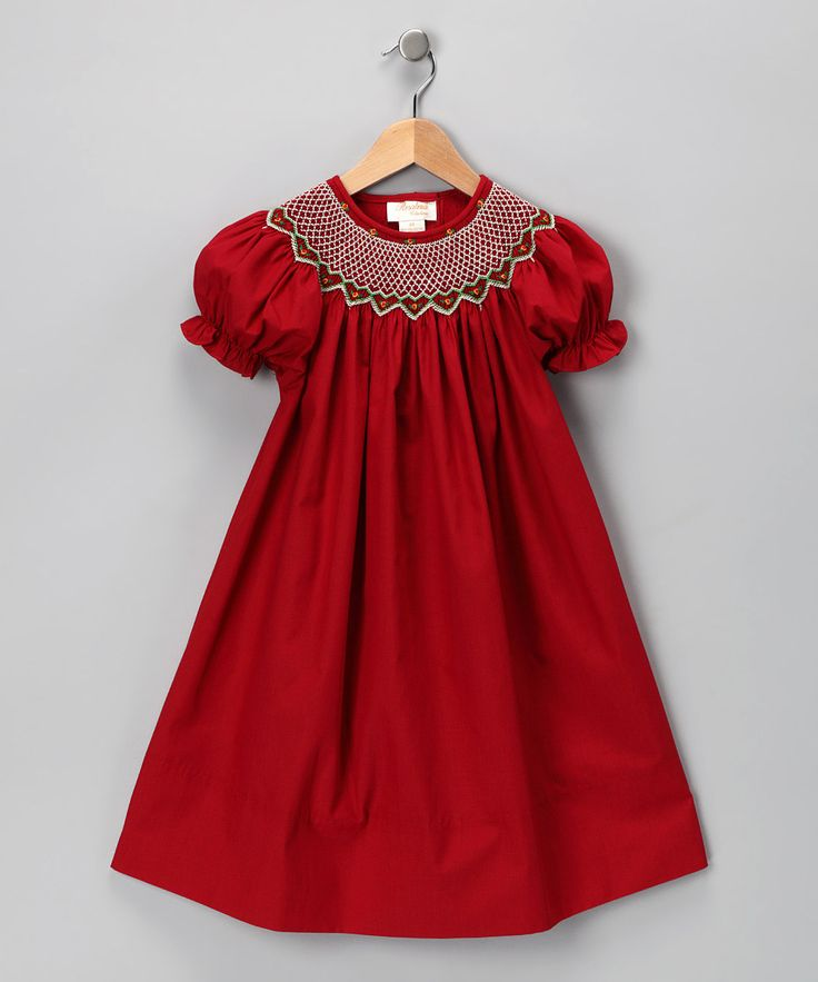 This rosalina red carla bishop dress toddler amp girls on zulily today