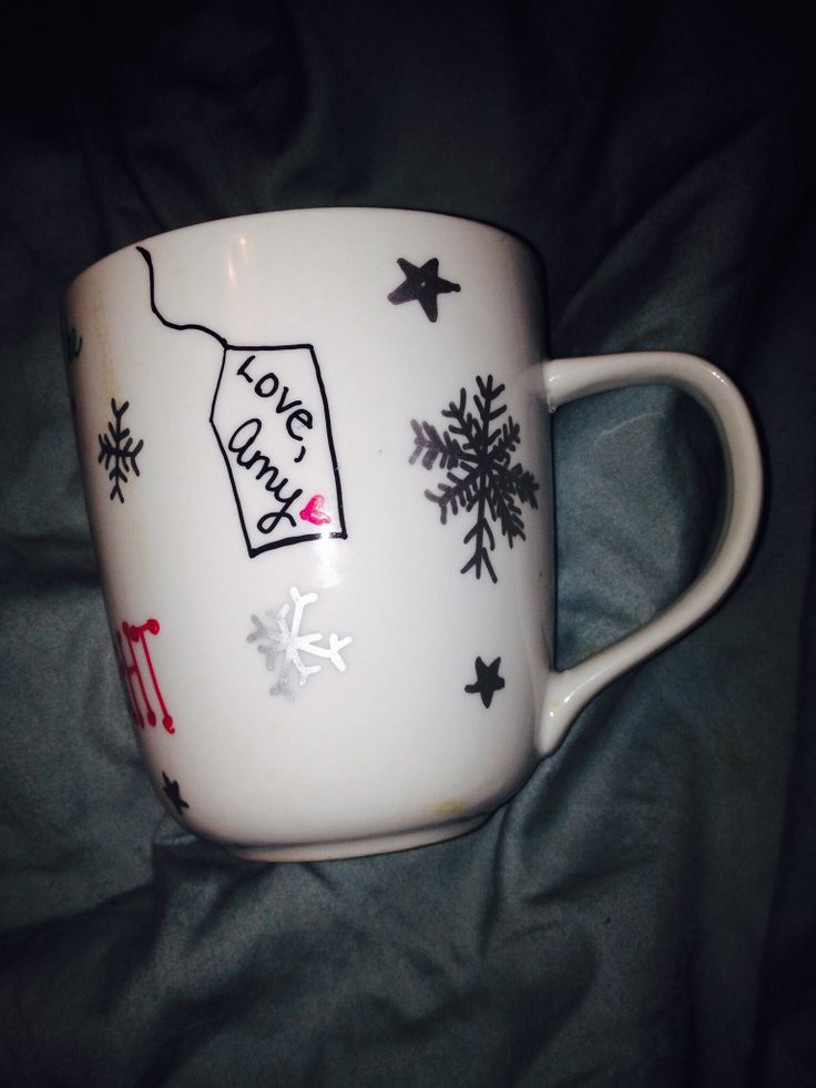 sharpie personalized mug