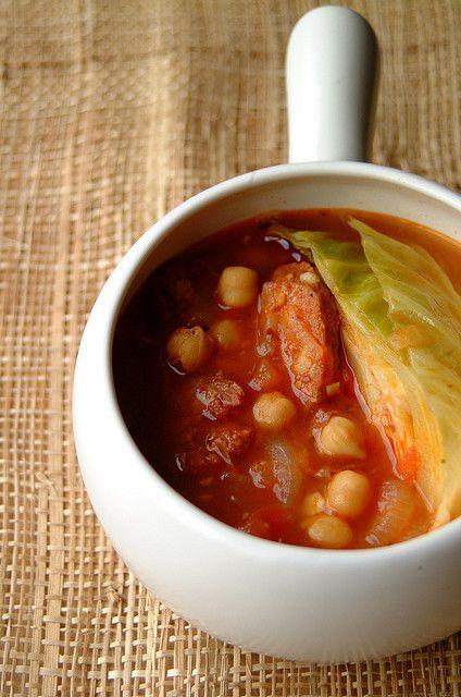 Chickpea And Chorizo Soup Recipe — Dishmaps