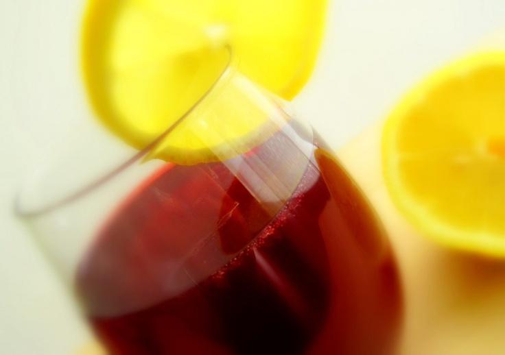 Pomegranate Lemon Sparkler | sodastream | Pinterest