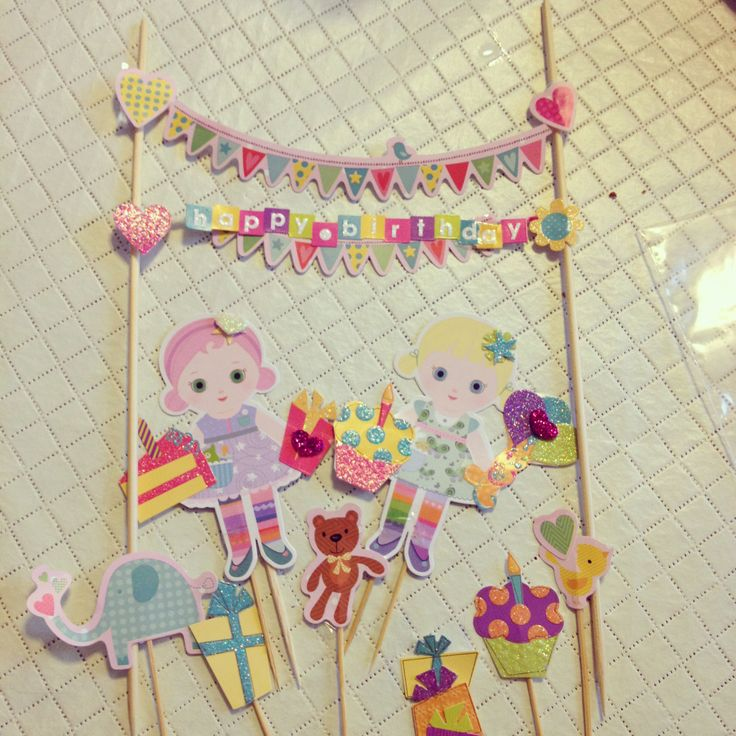 Cake Toppers Birthday Hobby Lobby : Pin by Monica Villalon on Party Pinterest