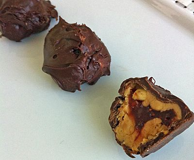 peanut butter and jelly truffles!! | Desserts! | Pinterest