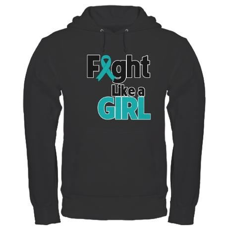 Fight Like a Girl Hoodie on