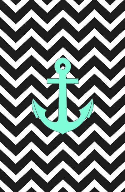 Anchor Chevron Wallpaper Chevron anchor anchors
