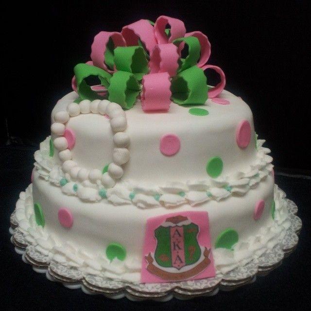 pin alpha kappa cake  u2014 birthday cakes cake on pinterest