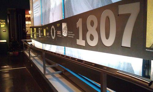 timeline handrail