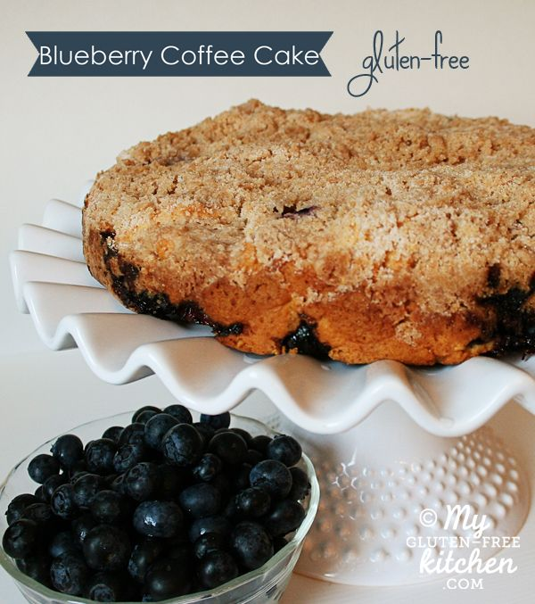 Blueberry Coffee Cake {gluten-free} - Perfect for a special breakfast ...