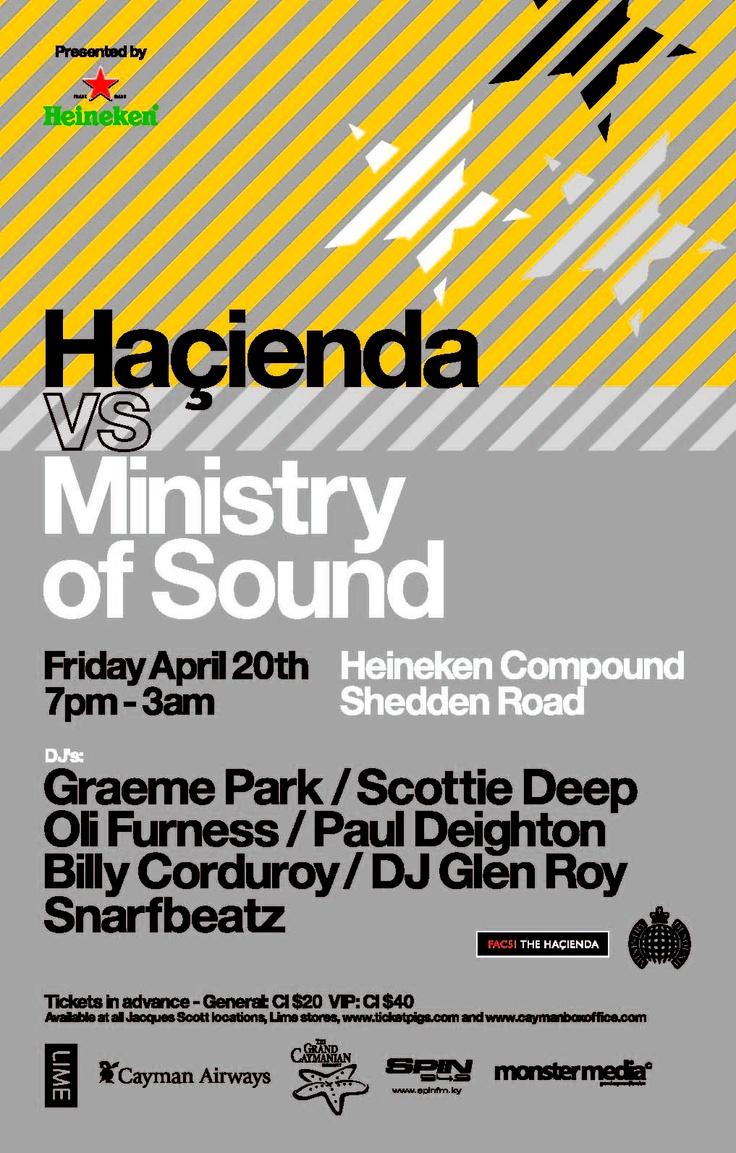 Hacienda vs ministry of sound ministry of sound pinterest