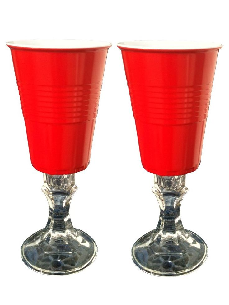 Red Solo Cup Wine Glasses How To Make Crafts
