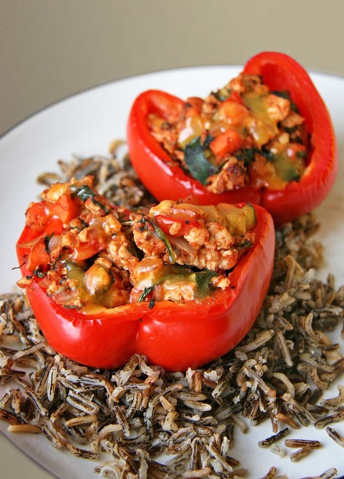 Turkey Stuffed Peppers | Food & Drink | Pinterest
