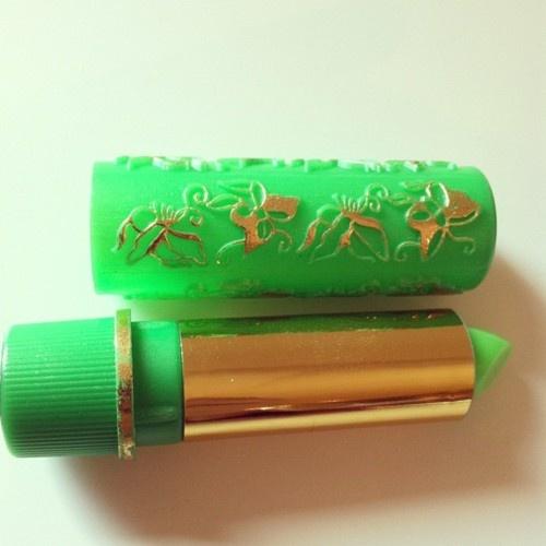 Green lipstick that turns pink | cute b/c I say so | Pinterest