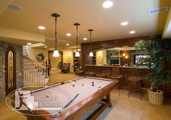 basement game room dream home pinterest