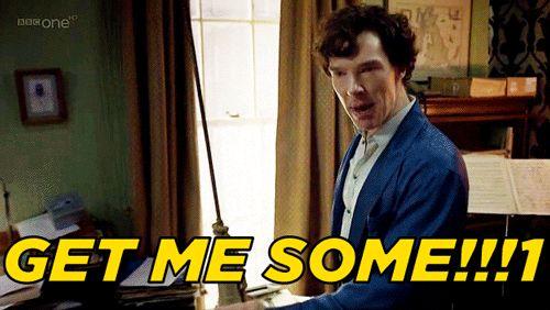 Get me some #Sh... Benedict Cumberbatch As Sherlock